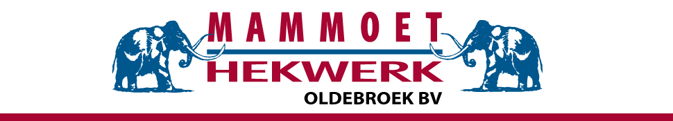 Mammoet Hekwerk Oldebroek